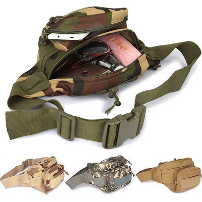 Tactical Waist Pack Pouch Military Camping Hiking Utility Outdoor Hand Fanny Bag