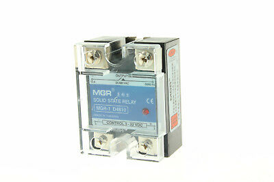SSR Solid State Relay D4810 10A Input 3-32V DC Load 24-480V AC DC-AC New