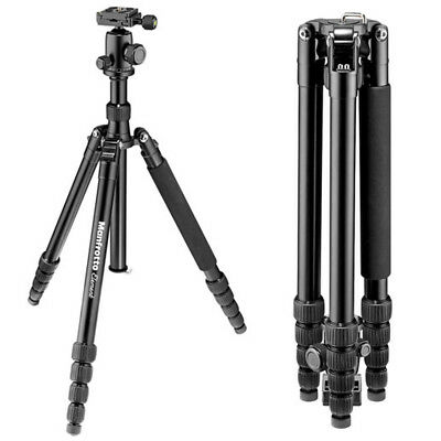New In Box Manfrotto MKELEB5BK-BH Element Big Aluminum Traveler Camera Tripod