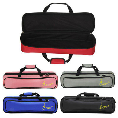 Flute Case Cover Carrying Bag w/ Shoulder Strap for Beginners Professionals