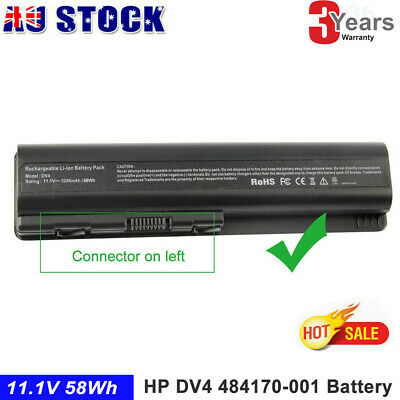 Laptop Battery for HP Pavilion CQ60 484170-001 DV4-1100 DV5 DV6-1300 HSTNN-LB72
