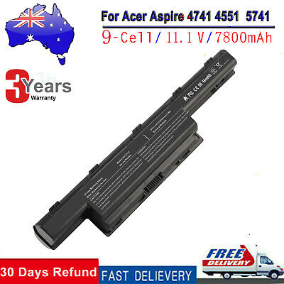 6/9 Cell Laptop Battery for Acer Aspire 4551 4741 5750 7551 7750 AS10D31 AS10D51