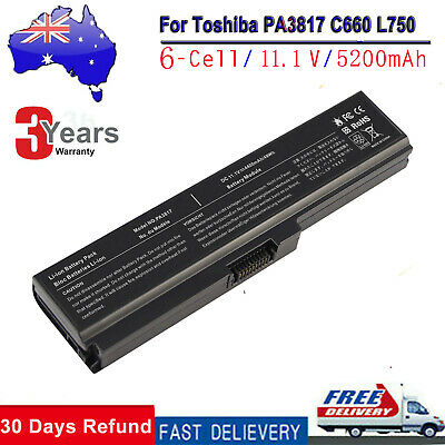 Laptop Battery for Toshiba Satellite C660 C665 Notebook PA3817U-1BRS PABAS228