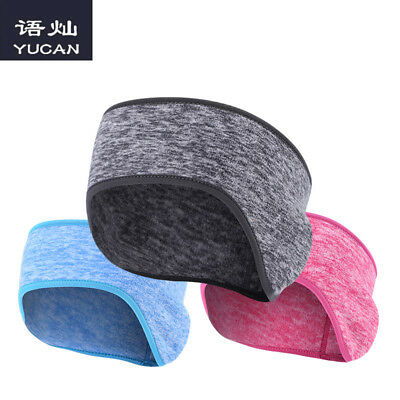 1 PC Warm Winter Unisex Gym Cycling Fleece Flannel Earmuffs Workout Headband