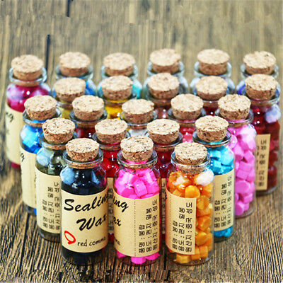 60pcs Sealing Wax Beads for Retro Seal Stamp Wedding Envelope Invitation Card