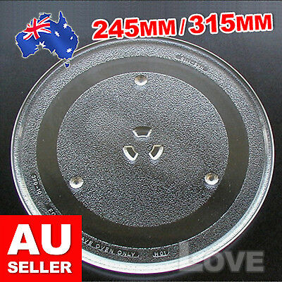 2 Types Dia 245mm 315mm Microwave Oven Turntable Glass Tray Glass Plate Platter