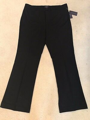 NWT NYDJ Not Your Daughters Jeans BLACK TROUSERS Pants Size 18W