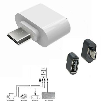 Micro USB To USB Adapter Mini OTG 5 Pin Converter For Android Samsung Adapter