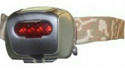 Tas Military Led Headlamp With Interchangeable Slide Colour Lenses