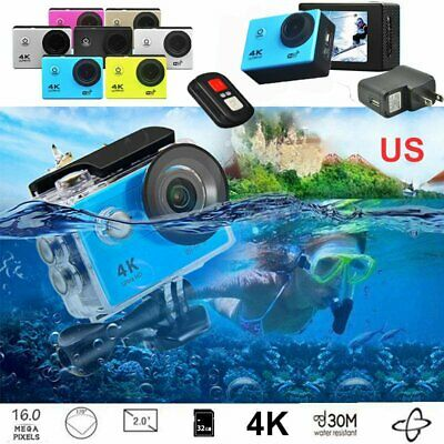 SJ9000 4K Action Sport Camera WiFi DV DVR Cam Camcorder Full HD Cam Waterproof