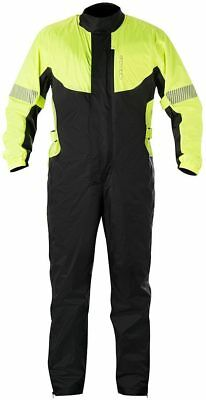Alpinestars Hurricane Motorcycle Bike Riding 1-Peace Rain Suit Waterproof Hi-Viz