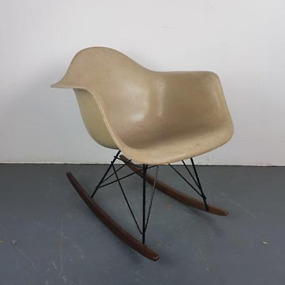 Vintage Eames Herman Miller Rar Rocking Chair Light Greige #2180