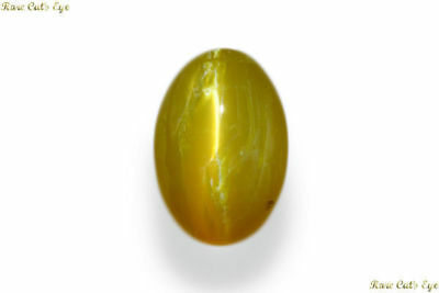 Exclusive 21.180 Cts Natural Very Rare Museum Grade Opal Cat's Eye Cabochon Gem!