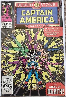 Captain America # 359 - Marvel Comics - 1st App Crossbones - Civil War
