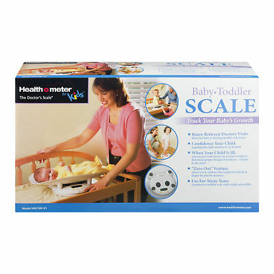 Health O Meter Baby Toddler Scale, 1.0 CT Electronic with Growth Chart Book