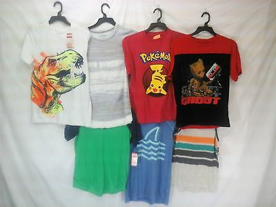 Wholesale Lot Assorted Brand New Childrens Boy Clothing 53 Pieces