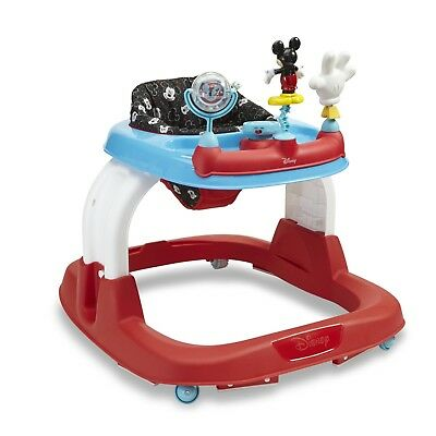 Disney Mickey Mouse Infant Walker Activity Toy Unisex Songs Lights Safety