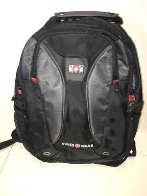 274178def1 NEW WITHOUT TAGS - Swiss Gear Backpack - Black and Red Threading ...