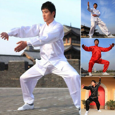 Performance Clothes Martial Arts Uniform Kung Fu Suit Costume Tai Chi Unisex New
