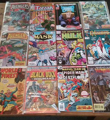 Lot of DC Marvel SILVER Bronze Copper AGE 12 comic book grab bag