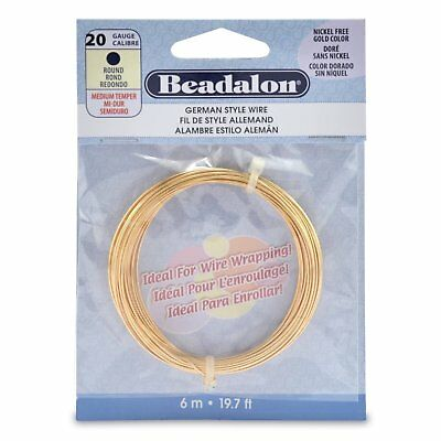 Beadalon® Quick Links™ Findings Round Shape 12mm Gold Color 42 pieces