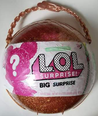 L.O.L. Big Surprise Limited Edition Gold Ball Doll LOL Surprise In Hand New