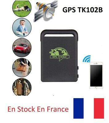 TK102B Tracker GPS GPRS SMS SOS micro localisation car kids bag