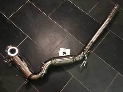 VW Scirocco 2.0 TDi 140/170BHP DPF Removal Stainless Performance Exhaust Pipe