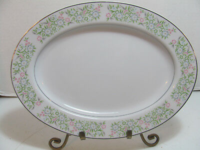 Taihei Fine China Springtime Oval Serving Platter