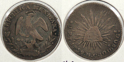 MEXICO: 1852/1/0-Pi MC Real #WC71889