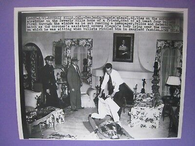 Original  Photo...'' Bugsy '' Siegel ...Feared Gangster..Knocked Off..9'' x 7''