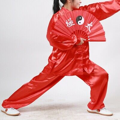New Chinese Kongfu Uniform Morning Exercise Costume Tai Chi Martial Art Clothing