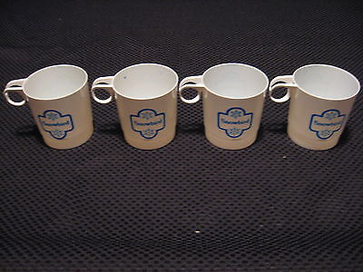 4- Vintage Old School 80's Snowbird Utah Ski Resort Plastic Hot Chocolate Cups
