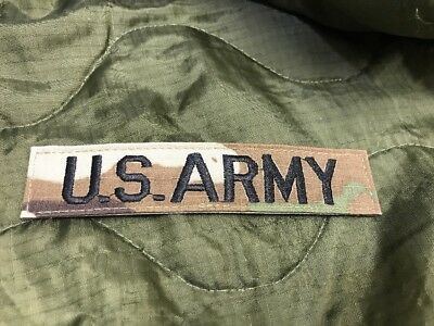 US ARMY Scorpion OCP MULTICAM BRANCH TAPE - Military Uniform Issue - NEW