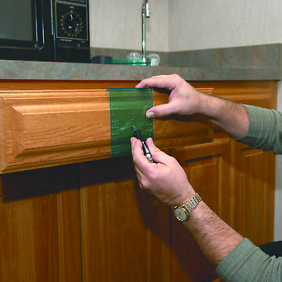 HIGHPOINT Drawer Knob and Pull Template