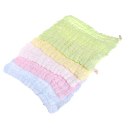 Soft Cotton Infant Baby Newborn Handkerchief Towel Washcloth Feeding Cloth Wipe