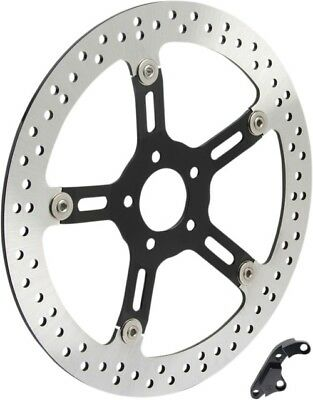 "Arlen Ness Left Side 14"" Front Big Brake Rotor Kit 2000-2007 Harley FLT"