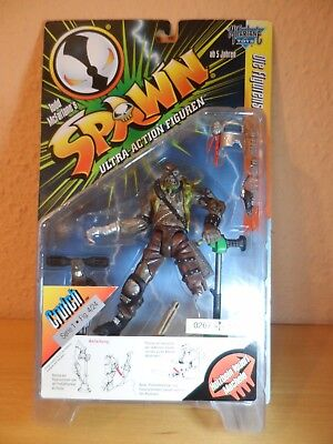 SPAWN Action Figur - CRUTCH Serie 7 Mc Farlane 1997 OVP TOP MotU - NECA - MEZCO