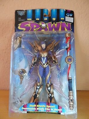 SPAWN Action Figur - THE GODDESS Serie MANGA SPAWN  McFarlane Toys 1997 OVP RAR