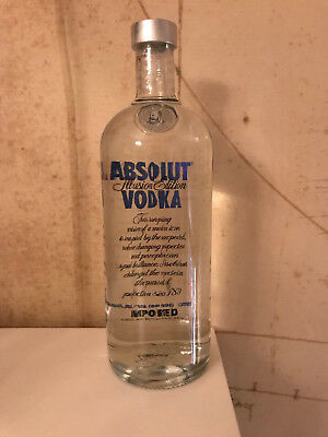 $$$ Absolut Vokda Illusion 1000 Ml Full New Sealed Perfect Condition $$$