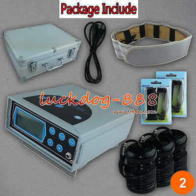 New Ionic Detox Foot Bath & Spa Chi Cleanse Machine & Case LCD Screen 3 Arrays