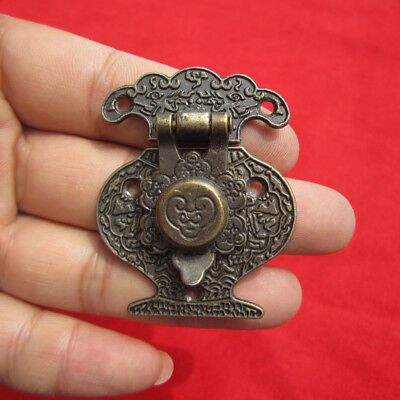 4PCS Antique Bronze Hasp Latch Jewelry Wooden Box Lock Cabinet  Case Lock  ATAU