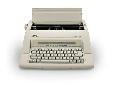 Royal Portable Electronic Typewriter ScriptorII New with Warranty Scriptor II