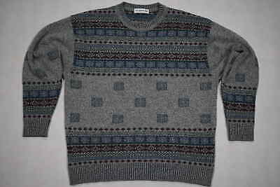 Strick Pullover Pulli Sweater Hipster Sweatshirt Oldschool Vintage Xmas 90s 54 L