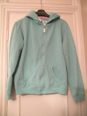 Next - Hoodie - Girls 12-13 - Green - Medium Condition (some bobbling)
