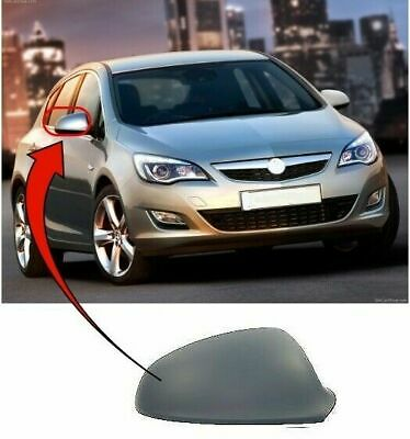 Vauxhall Astra J 2010-2015 Door Wing Mirror Cover Primed Driver Side New*