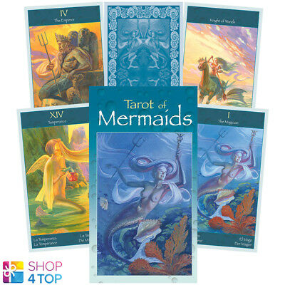 Tarot Of Mermaids Deck Cards Esoteric Fortune Telling Lo Scarabeo New
