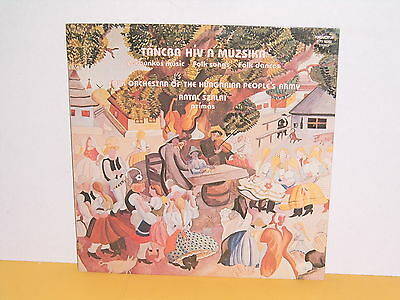 Lp - Folk Orcestra Of The Hungarian People's Army - Tancba Hiv A Muzsika