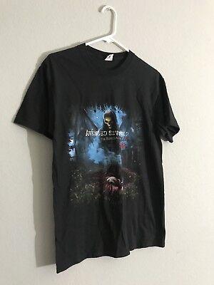 Avenged Sevenfold A7X The Buried Alive Tour 2011 Shirt Adult Size Medium