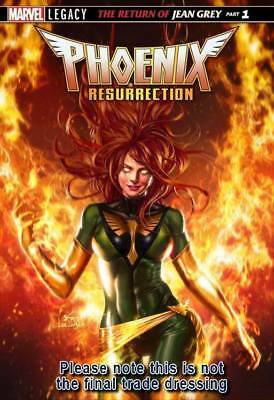 Phoenix Resurrection Return Of Jean Grey #1 Exclusive In Hyuk Lee Variant